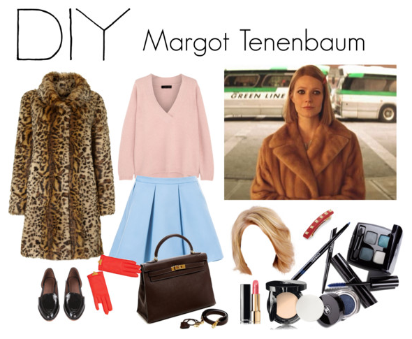 Margot Tenenbaum DIY Halloween costume